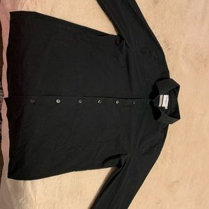 Good Fellow black button down shirt